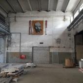 На стене - наследие от старого здания