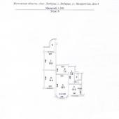 Экспликация 3-к квартиры в г. Люберцы, ул. Назаровская, д. 4