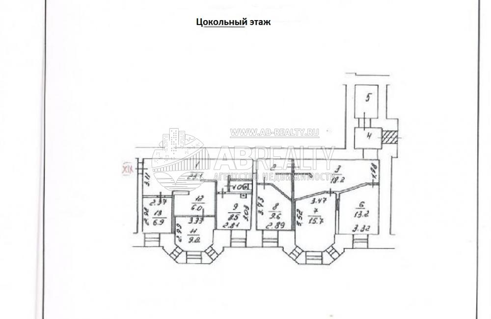 План сдаваемого помещения 130 кв.м.