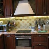Общий вид кухни в квартире на Литовском бульваре, дом 15 корпус 1