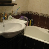 Ванная комната в квартире на Литовском б-ре, 15к1