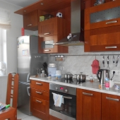 Кухня в квартире на ул. Профсоюзная, дом 42 к 4