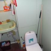 Однушка, ванная комната, Беляево