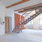 Вид лестницы с 1 го уровня