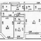 Общая схема квартиры