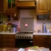 Общая фотография кухни и техники - всё это остается