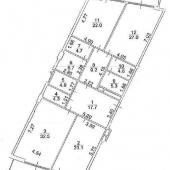 Схема квартиры, выходящий на 2 стороны