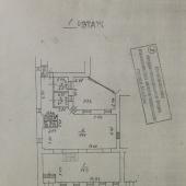 Схема сдаваемого помещения, 1 этаж