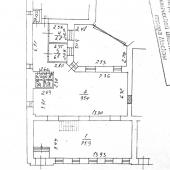 Более четкая схема помещения на 1 этаже