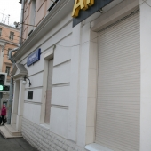 Фасад помещения под магазин или салон