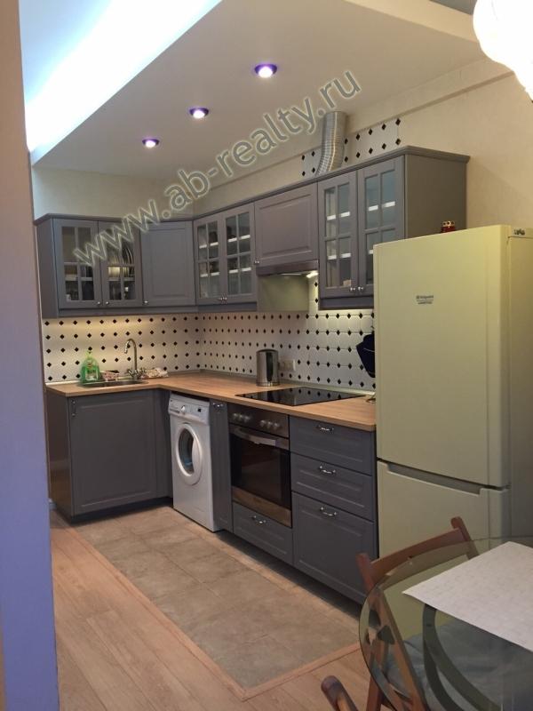 Кухня в квартире на Б. Тульской