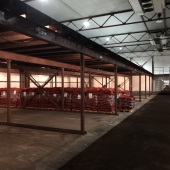 Зона сортировки поступающих грузов на складе в аренду в Подольске