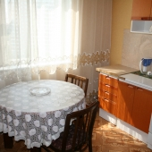 Фотография кухни в арендной квартире