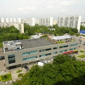 Вид из окна из квартиры на улице Генерала Тюленева, дом № 9