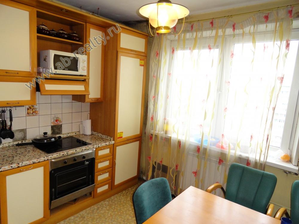 Кухня в арендуемой квартире