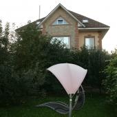 Вид хозяйского дома с другого бока