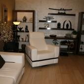 Основная комната, гостиная или зал в восточном стиле