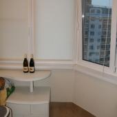 Лоджия в квартире на Радужной, 13к1