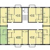 План квартиры - отчетливо видно, что квартира в данном случае угловая