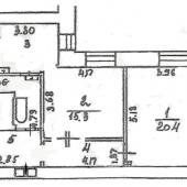 Схема или план БТИ этой квартиры