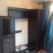 Стенка под телевизор в этой квартире
