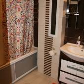 Попытка сфотографировать всю ванную комнату