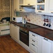 Вот посмотрите, новая кухня на этой квартире