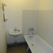 Ванная комната: умывальник и ванная