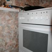 Плита на кухне в квартире по ул. Академика Виноградова, дом 5