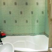 Кафель в ванной комнате на ул. Грина, д. 1 корпус 5