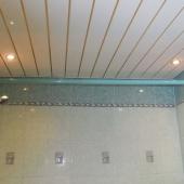 Потолок подвесной в ванной