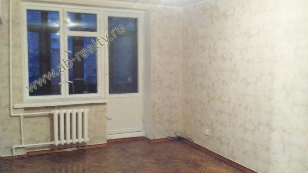 Одна из комнат в отремонтированной квартире по ул. Москворечье, д. 17