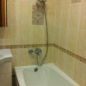 Ванная тоже абсолютно новая! И снять эту квартиру можно всего за 24 тыс. + счетчики!