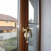 Вид из спальни со второго этажа на поселение Хлопово