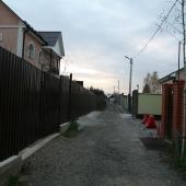 Состояние улицы в деревне Хлопово