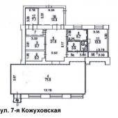 План-схема всех продаваемых помещений