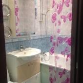 Ванная комната или санузел в этой квартире