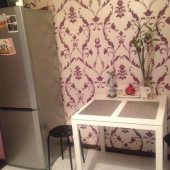 Есть и стол и холодильник