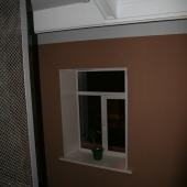 Окно в подъезде в квартире, Кутузовский 35