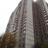 Вид из окна из дома № 14 корпус 4 по ул. А. Пилюгина