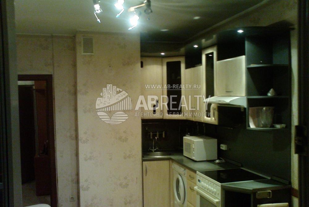 Кухня в квартире, которая продается