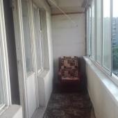 Лоджия на ул. Паустовского застекленная - 6 метров