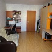 В комнате на проспекте Гагарина 5/5 есть еще вот такой раскладной диван