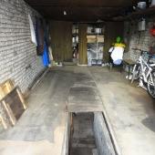 По площади гараж 28 метров