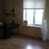 Центр жилой зоны в квартире студии