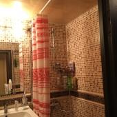 Посмотрите на ванную комнату!