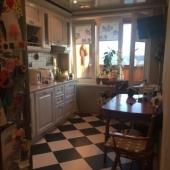 Так выглядит кухня в 1-комнатой на ул. Усачёва 4