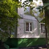 Торец дома - адрес: Москва, Голубинская, д. 19