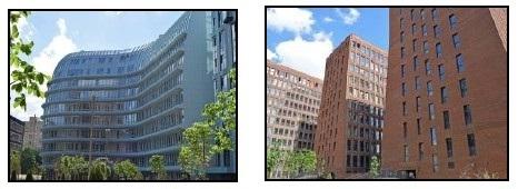 Это современные здания