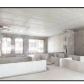 Нижними кирпичами-блоками обозначена граница будущих комнат